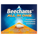 Beechams All In One Cold and Flu Relief Tablets (16 Tablets)