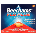 Beechams Flu Plus Cold and Flu Relief Caplets (16 Caplets)