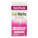 Full Marks Head Lice Solution (100ml + Comb)