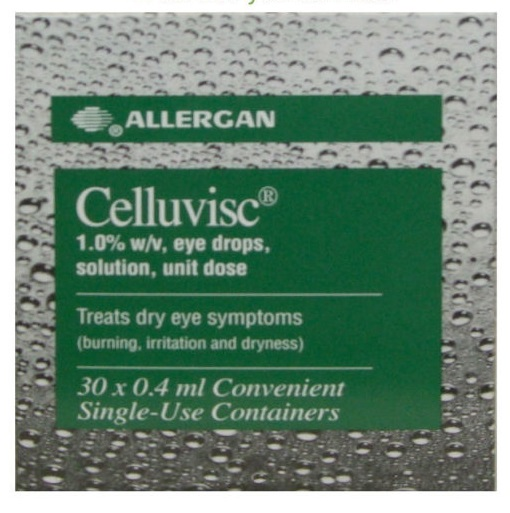 Celluvisc 1.0% Eye Drops Solution (30x 4ml) Single Use Containers