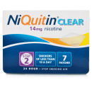 NiQuitin Clear 14mg Patches - Step Two (x7 Patches)