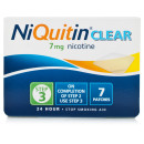 NiQuitin Clear 7mg Patches - Step Three (x7 Patches)