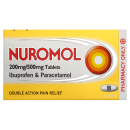 Nuromol 200/500mg Tablets (x24 Tablets)