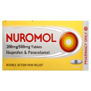 Nuromol 200/500mg Tablets (x12 Tablets)