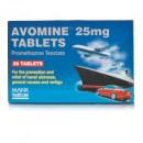 Avomine Tablets 25mg (x28 Tablets)